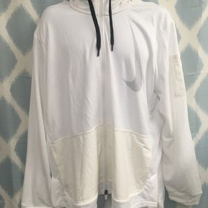 Nike zip up hoody, NWT, Xl
